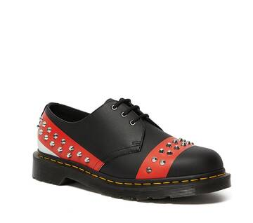 1461 Studded Leather Oxford Shoes