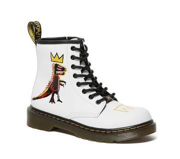 Junior 1460 Basquiat Junior 8-Eye Boot