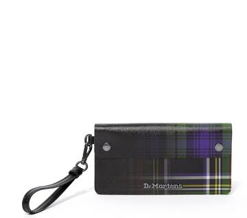 Tartan Leather Pouch