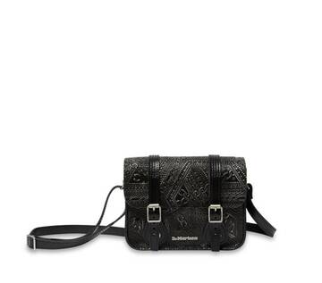 Arcadia Emboss Leather Satchel