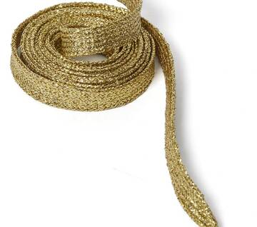 140cm Gold Laces (8-10 Eye)