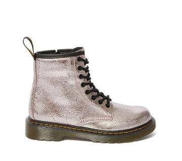 Junior 1460 Crinkly Metallic Boots