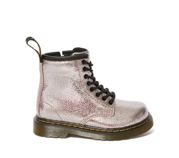 Infant 1460 Crinkly Metallic Boots