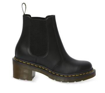 Cadence Smooth Leather Heeled Chelsea Boots