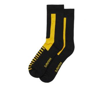 Double Doc Socks Black and Yellow
